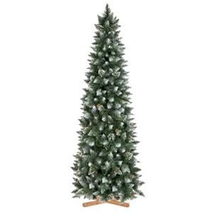 Искусственная елка Сосна естественная покрыта снегом slim