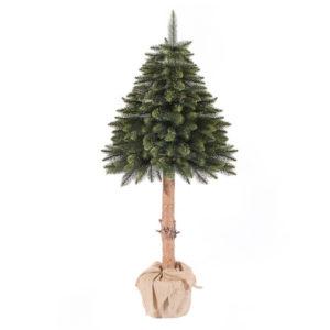 Искусственная елка Ель на зеленом пне